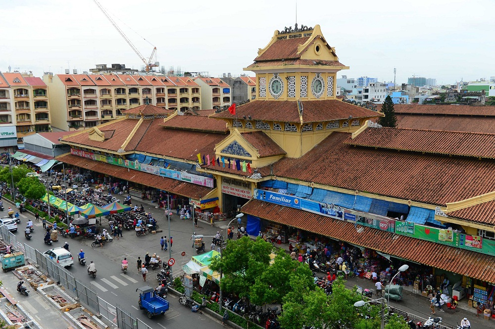 China town in Ho Chi Minh City - Vietnam travel